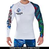 Ground Game White Dragon Grappling Rashguard